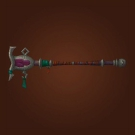 Wasteland Meditation Staff, Wasteland Diviner's Rod, Wasteland Combat Staff Model