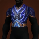 Morrie's Waywalker Wrap, Greyshadow Chestguard, Vulajin's Vicious Breastplate Model