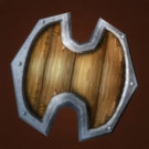 Battered Viking Shield, Warpwood Shield Model