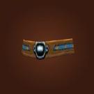 Earthen Silk Belt, Elegant Belt Model