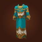 Replica Knight-Captain's Satin Robes, Replica Knight-Captain's Satin Tunic Model