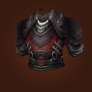 Opportunist's Leather Tunic, Pristine Glowbear Pelt Model