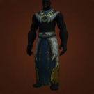 Wild Gladiator's Dragonhide Robes, Warmongering Gladiator's Dragonhide Robes Model