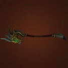 Inscribed Serpent Staff Model