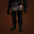 Bloodspattered Loincloth Model