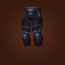 Deadly Gladiator's Leather Legguards Model