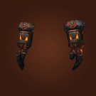 Magma Plated Gauntlets, Magma Plated Handguards Model