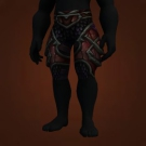 Wild Gladiator's Plate Leggings, Warmongering Gladiator's Plate Leggings Model