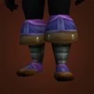 Bonecaster's Boots, Shimmering Azure Boots Model