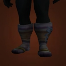 Inscribed Leather Boots Model