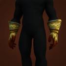 Burnished Gloves, Dragonscale Gauntlets Model