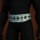 Bonelink Belt, Rune-Engraved Belt Model