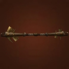 Stave of the Windborn, Unusual Staff, Composite Harpyspine Staff, Spire of Soaring Rumination, Tenacious Vine Staff Model