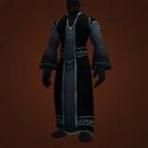 Black Velvet Robes Model