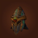 Helmet of the Crypt Lord, Helm of Inner Warmth, Helmet of the Crypt Lord, Peacebreaker's Ringmail Helm Model