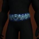 Defender Girdle, Frostwolf Mail Belt Model