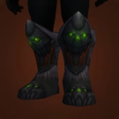 Grinning Skull Greatboots, Blood-Soaked Saronite Stompers Model
