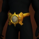 Gilded Nightborne Waistplate Model