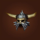 Brighthelm of Guarding, Crown of Forgotten Kings, Ornate Saronite Skullshield, Ground Tremor Helm Model