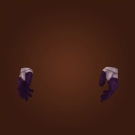 Velvet Bloodweaver Gloves Model