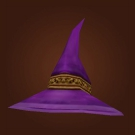 Regal Wizard Hat, Darkmist Wizard Hat Model