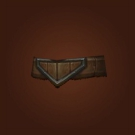 Mushan Hide Belt, Silentleaf Belt Model