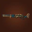 Inlaid Gun, Bodyguard's Rifle, Engraved Gun, Scavenged Pandaren Gun, Immaculate Pandaren Gun Model