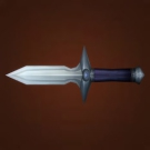 Mercenary Stiletto, Buzzer Blade, Sharp Bowie Knife, Buzzer Blade Model
