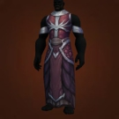 Felbreath Bloodsinger Robe, Snowblind Vestments, Lead-Studded Robes, Hagfeather Robe, Snowblind Raiment Model