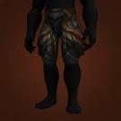 Malevolent Gladiator's Plate Legguards, Crafted Malevolent Gladiator's Plate Legguards Model