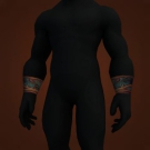 Bracers of Cloudy Omen, Black Chitin Bracers, Bracers of Cloudy Omen Model