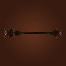 Bloodwood Greatstaff, Stave of Shrouded Mysteries Model