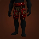 War Torn Pants Model