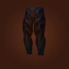 Leggings of the Malformed Sapling, Worldbinder Leggings, Legguards of the Haunted Forest, Legwraps of the Haunted Forest, Breeches of the Haunted Forest, Leggings of the Haunted Forest, Leggings of the Malformed Sapling, Worldbinder Leggings Model