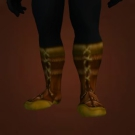 Museum Guard's Warboots, Hill Ranger Treads, Grassy Bracers, Striders of the Prolific Sire, Silver Inlaid Footguards Model