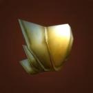 Golden Scale Shoulders Model