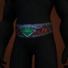 Beauty Jr.'s Collar, Hail-Strung Belt, Elekk-Horn Waistguard, Hail-Strung Belt, Hail-Strung Belt Model