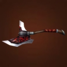 The Gleaming Ravager, Saboteur's Axe, The Gleaming Ravager Model