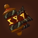 Mantle of the Burning Scroll, Shoulderpads of Twisted Fate Model