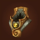 Crafted Dreadful Gladiator's Scaled Helm, Crafted Dreadful Gladiator's Ornamented Headcover Model