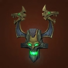 Faceguard of the Witch Doctor Model