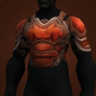 Thick Silithid Chestguard, Inferno Hardened Chestguard Model