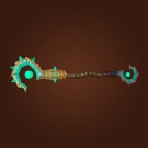 Vicious Gladiator's Energy Staff Model