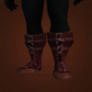 Scaled Leather Boots Model