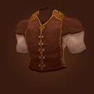 Sentinel Hill Surcoat, Sea Sister Vest, Emerald Vest Model