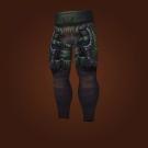 Ravaged Leather Leggings Model