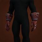 Taut Dragonhide Gloves Model