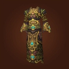 Eternal Blossom Vestment, Eternal Blossom Raiment, Eternal Blossom Robes, Eternal Blossom Tunic, Robes of Eighty Lights Model