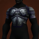 Thick Obsidian Breastplate Model