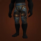 Bladeshadow Leggings, Blackfang Battleweave Legguards Model